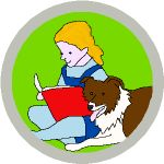 BADGE_Therapy_Dog3_Reading_150